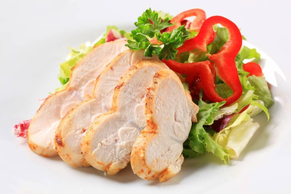 Sliced Roasted Chicken Inner Fillet