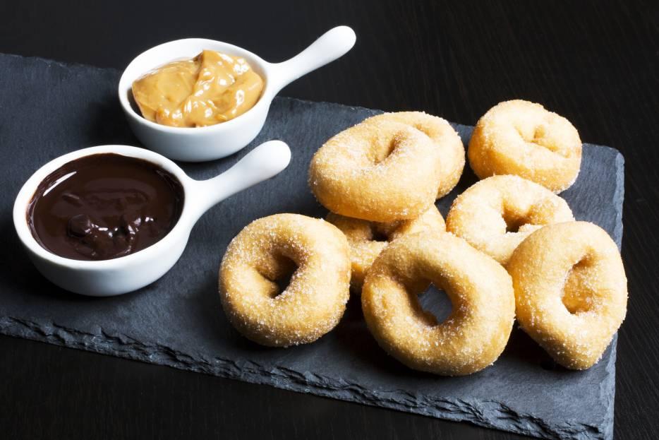 Mini Sugared Donuts