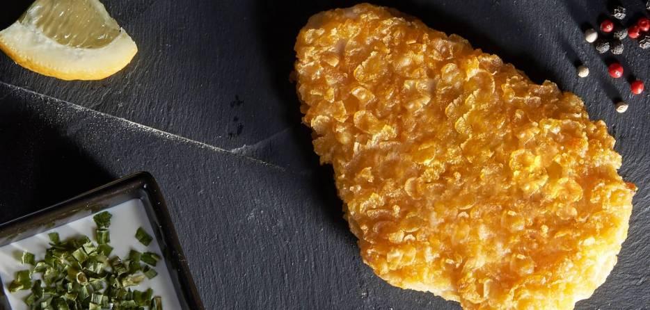 Breaded Cornflakes Chicken Escalope