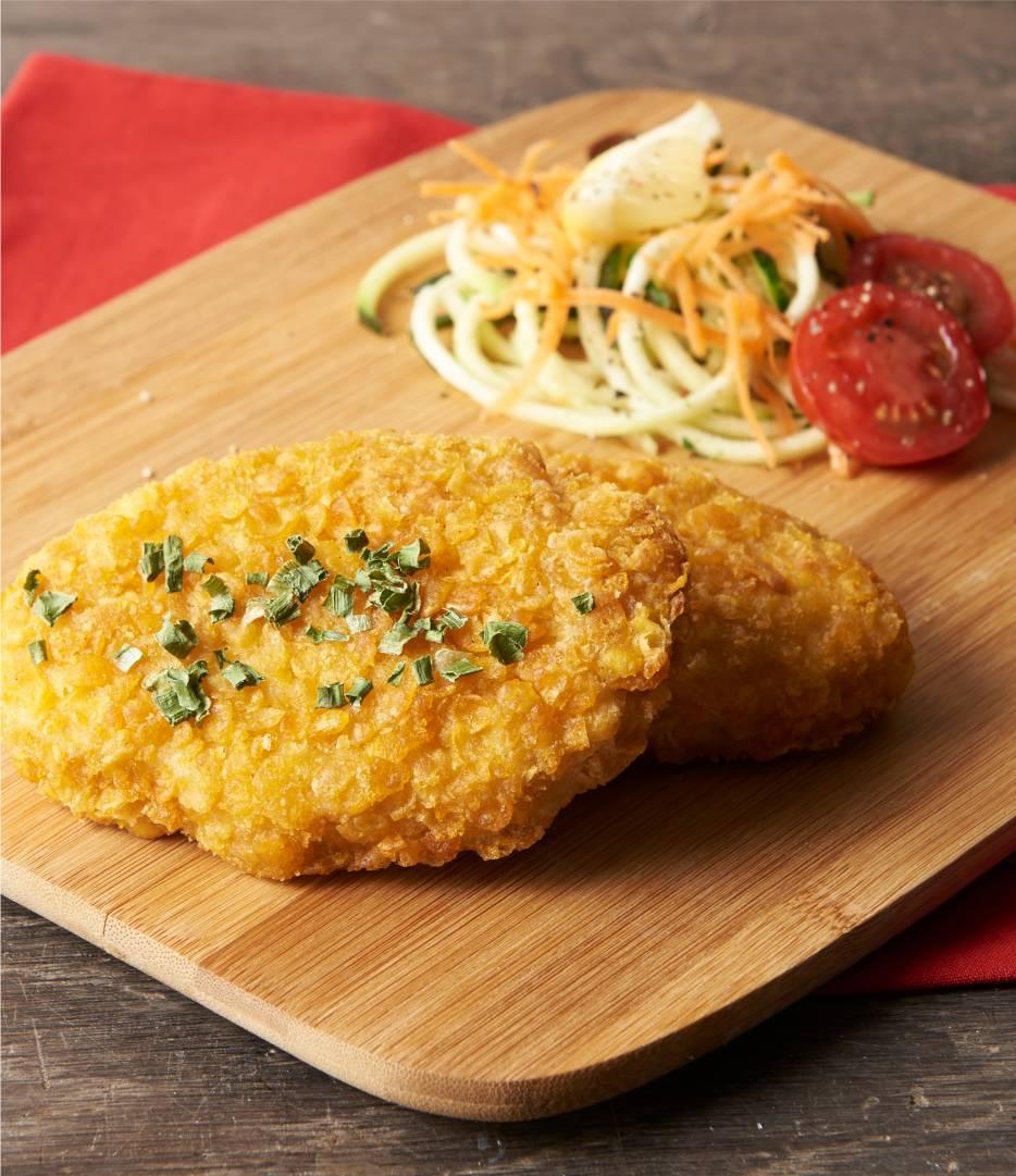 Crispy Cornflakes Chicken Escalope