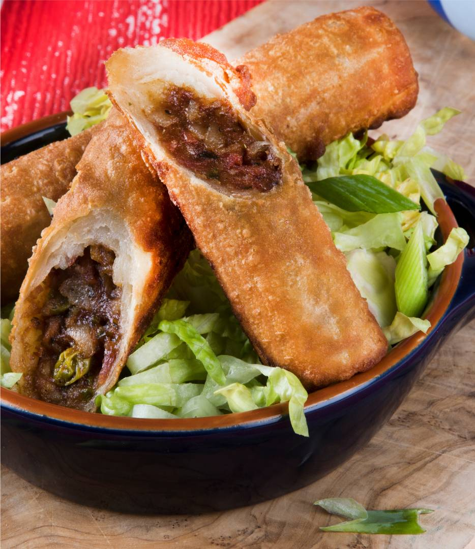 BBQ, Beef & Bacon Taquitos