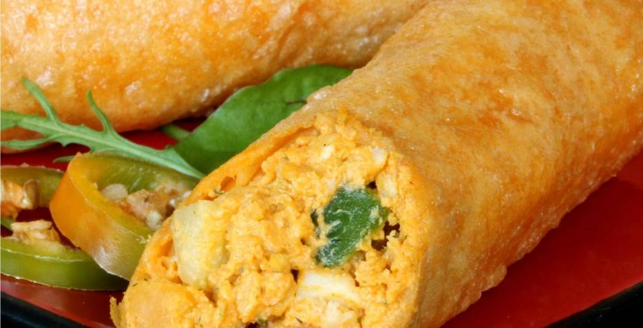 Spicy Cheese & Chicken Taquitos
