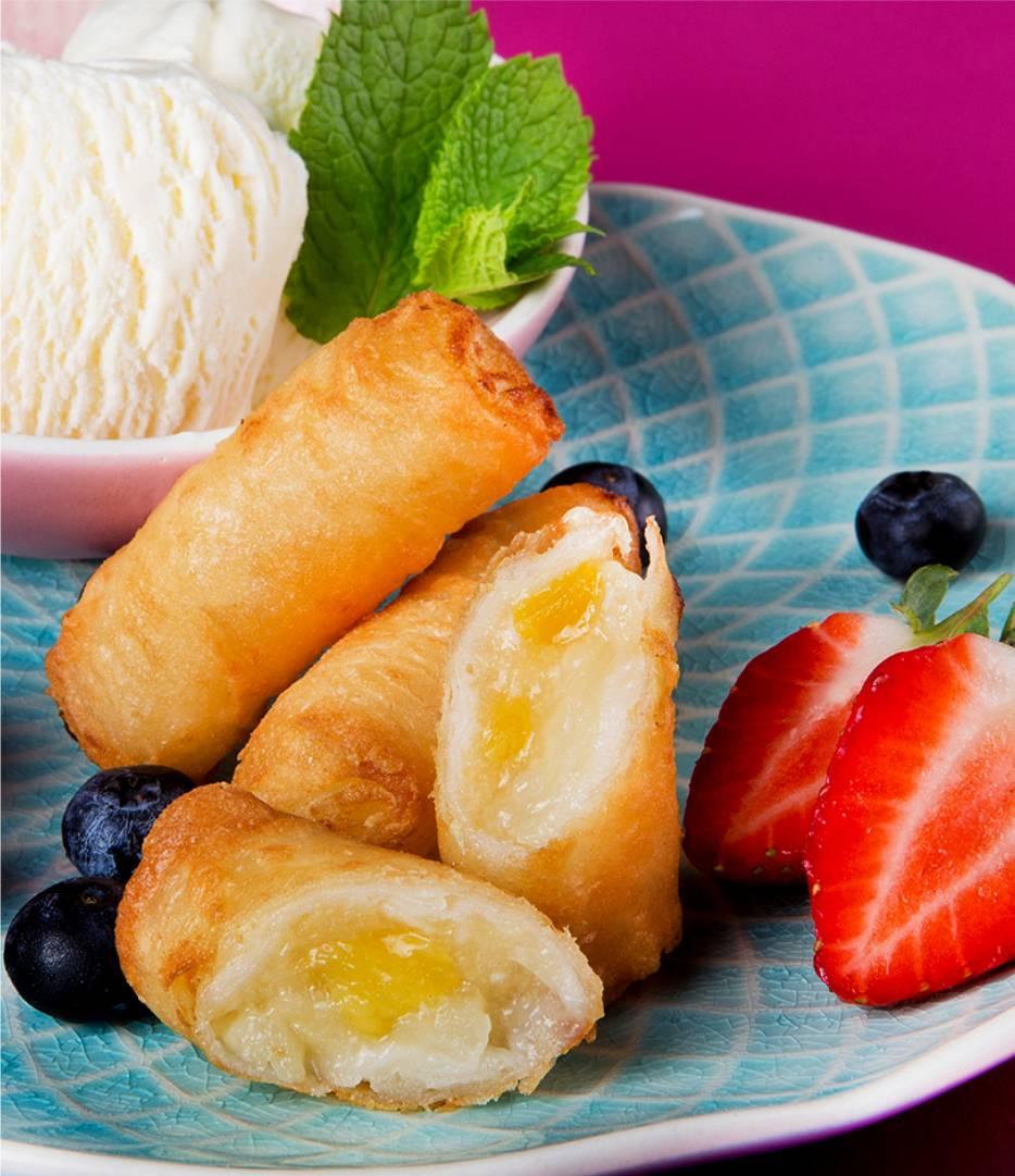 Sweet Tropical Fruit Rolls