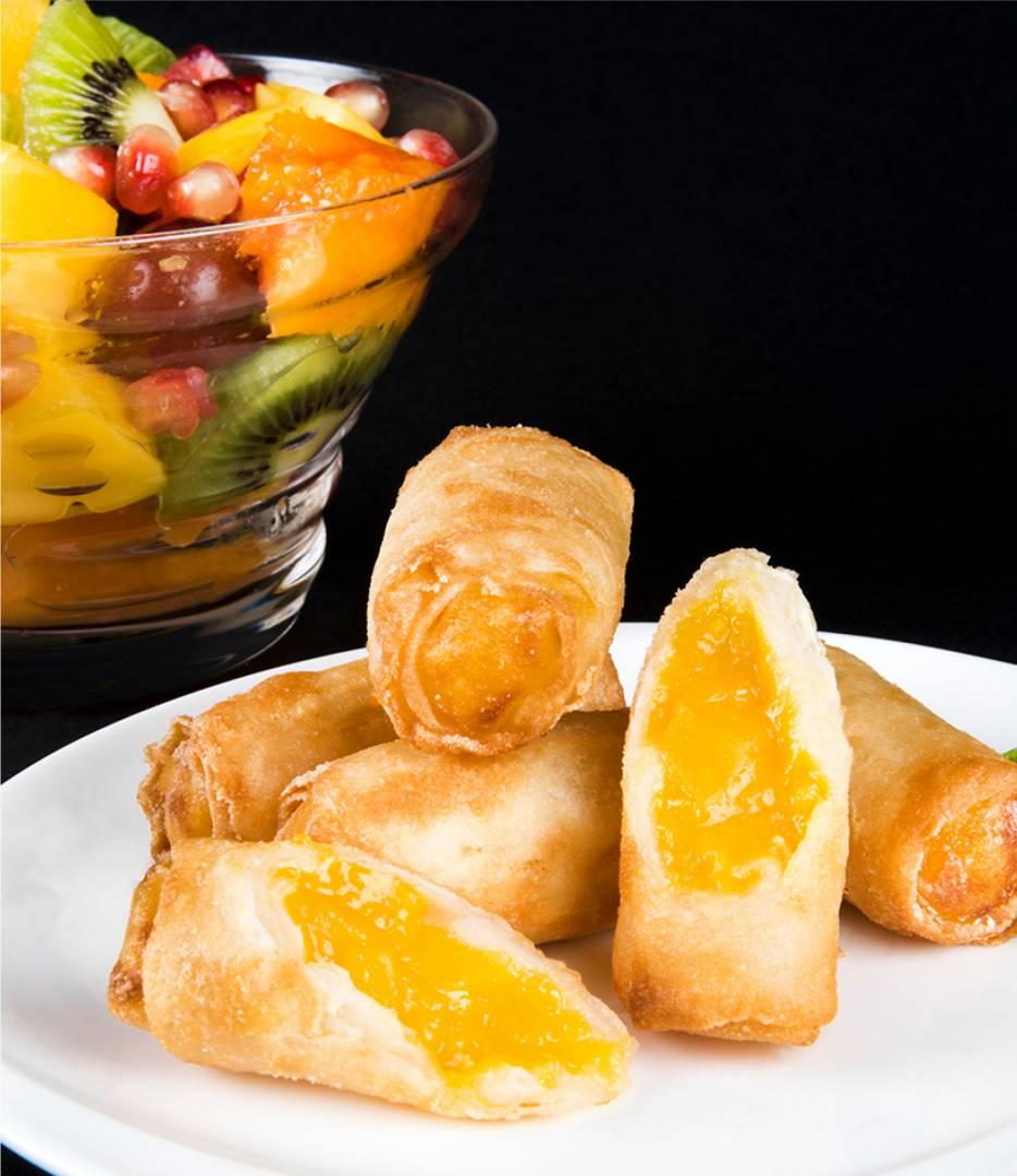 Mango Ginger Rolls